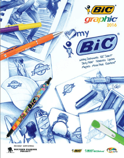 BIC Graphic 2016 catalogue cover