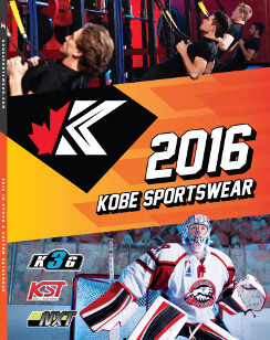 Kobe sportswear 2016 catalogue