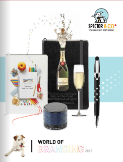 spector&co world of branding 2016 catalogue