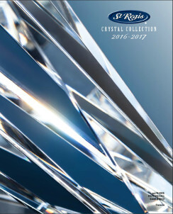 st-regis crystal 2016-2017 catalogue