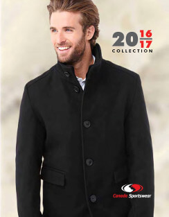 Canada Sportswear 2016 - 2017 catalogue cover