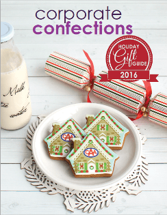 Corporate Confections Gift Guide 2016 catalogue cover