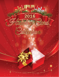 Holiday Card Collection 2016 catalogue cover